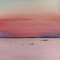 La mer en rose