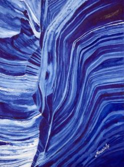 Canyon bleu