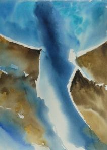 Vue du ciel abstrait