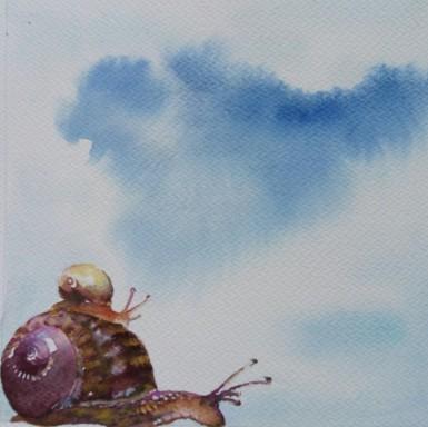 Ciel d'escargots__15x15