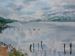 Reflets sur le Loch Ness_26x36_