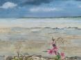 Rochefort sur mer_aquarelle vernie 30x40